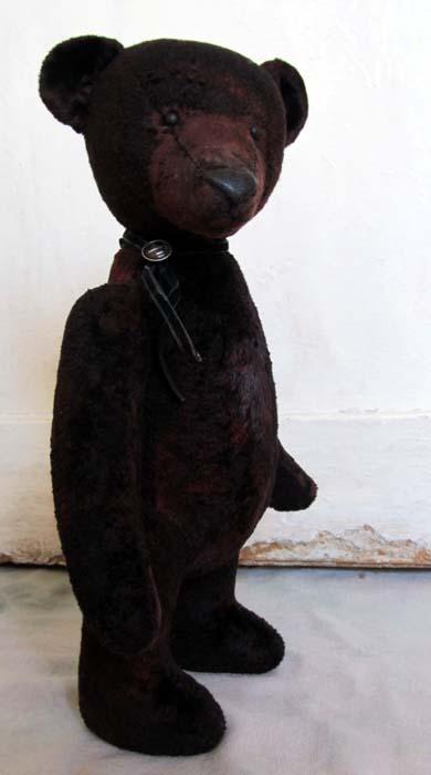 Авторский состаренный медведь тортюр