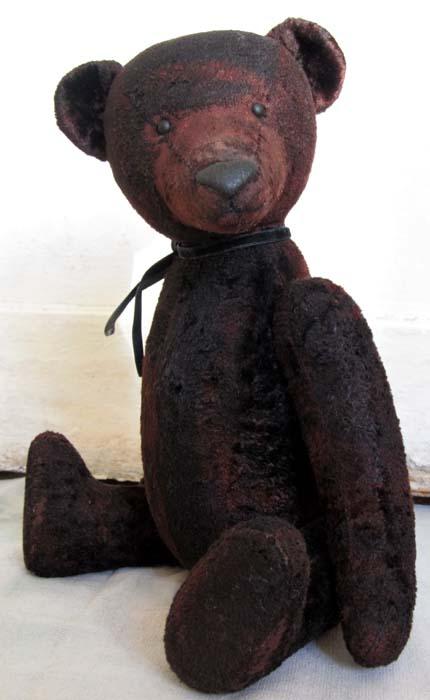 Авторский медведь тедди ручной работы.