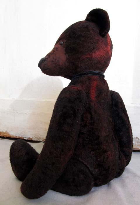 Старенький мишка винтаж. Украшение на антикварный буфет.