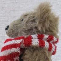 Мишка из альпаки