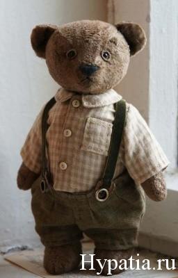 Авторский медведь Герман от Гипатии