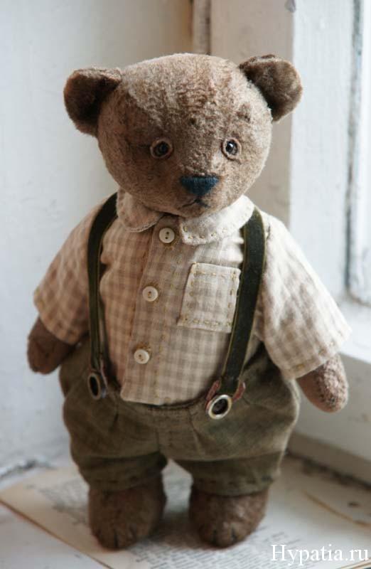 Купить авторского медведя с опилками.