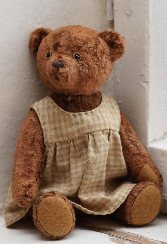 Традиционный медведь с опилками.