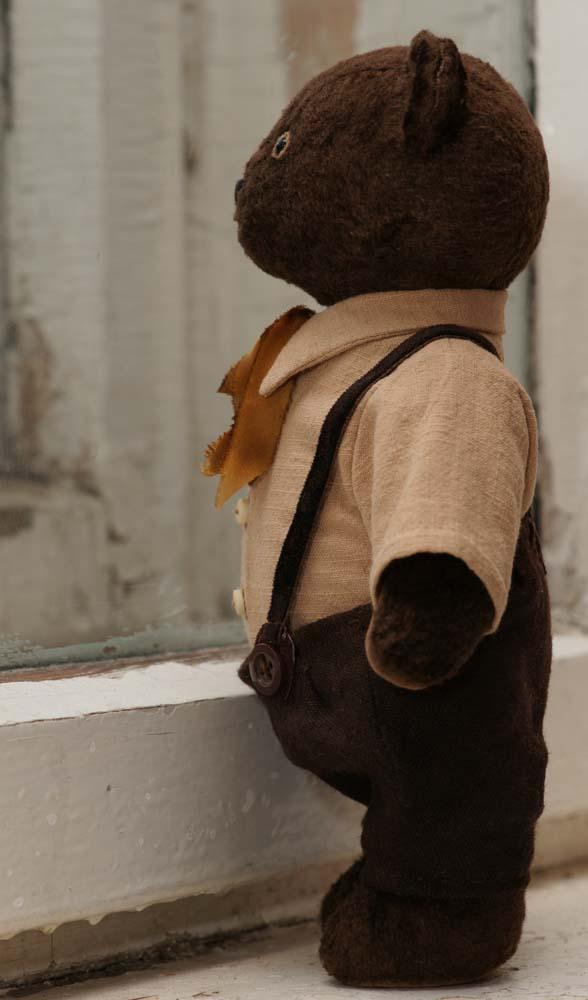 Винтажный медведь тедди