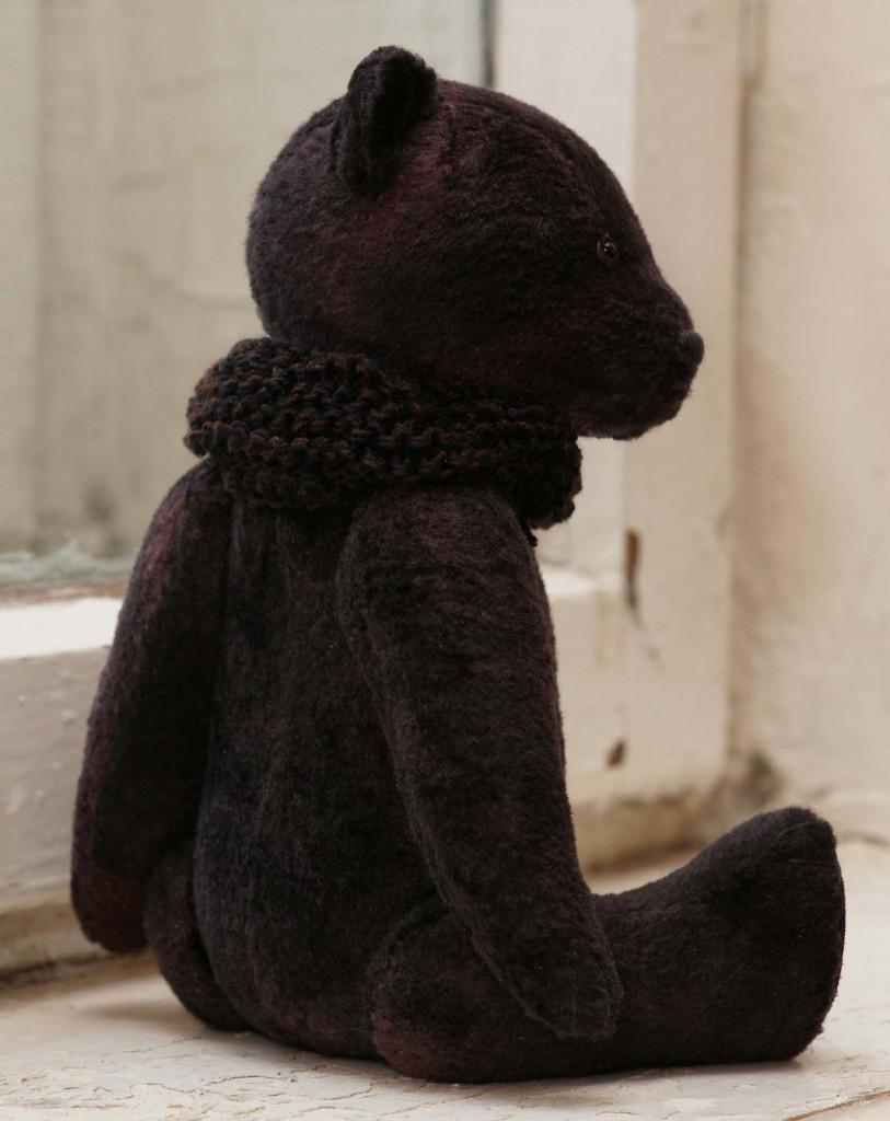 Коллекционный плюшевый игрушечный медведь винтажный