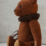 Авторский медведь с опилками
