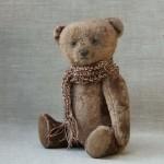 Коллекционный медведь в прованском стиле.