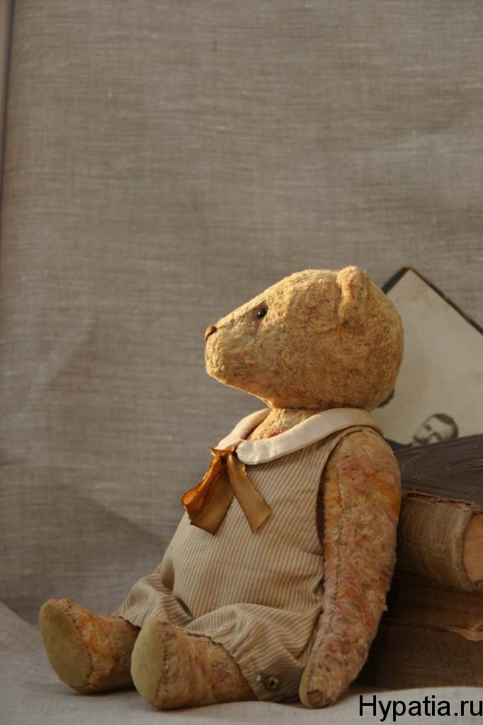 Коллекционный медведь тедди