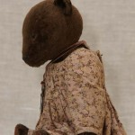 Мишка антик тортюр в платье.