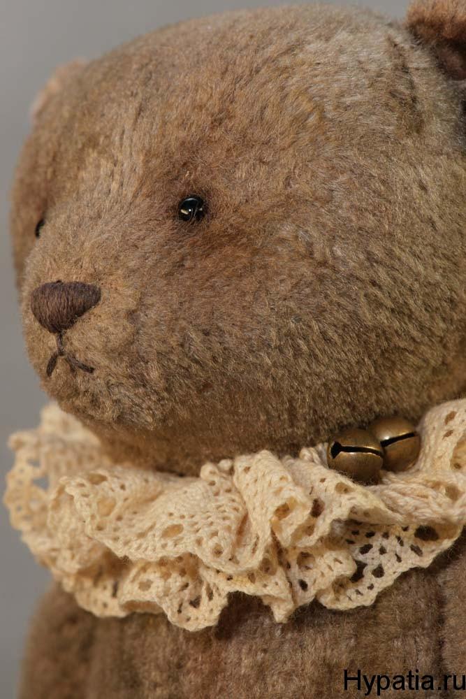 Авторский коллекционный мишка тедди. Интерьерные игрушки. Гипатия.hypatia toys