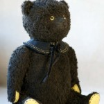 artist teddy bear by Hypatia