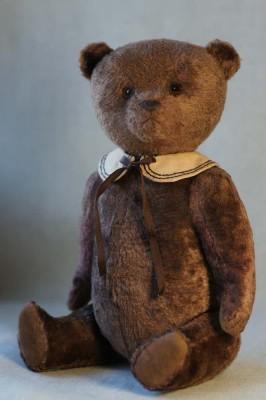 Авторский медведь из плюша купить.