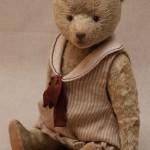 мишка в платье в стиле 20-х годов, авторская выкройка.