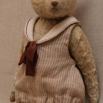 teddy bear in dress 20th stile