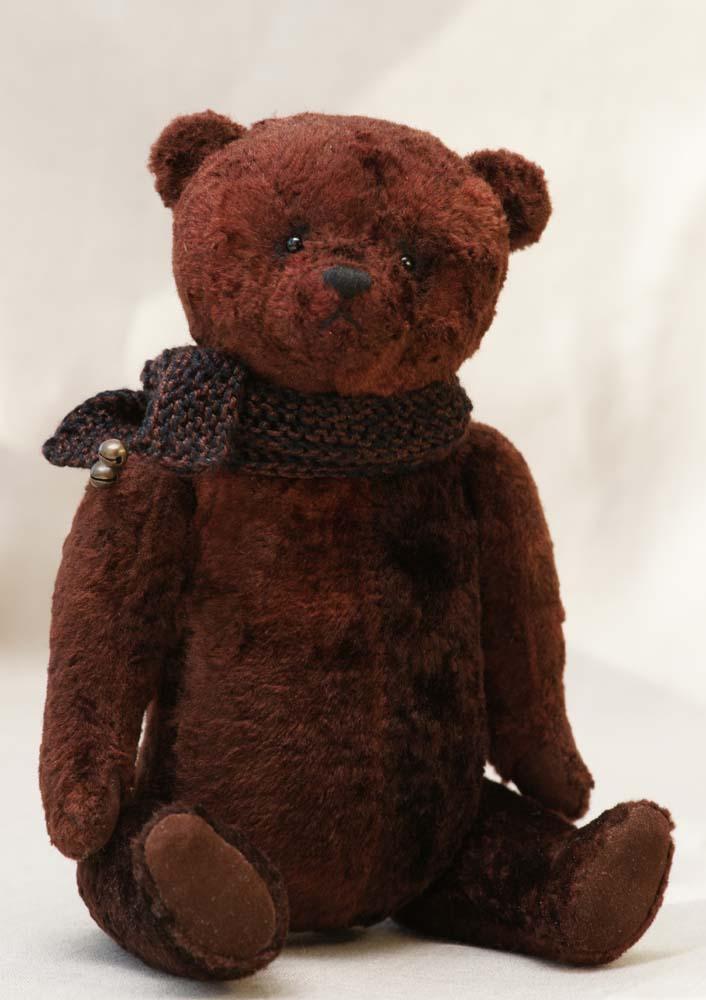 Авторский медведь ручной работы.