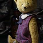 ретро стиль авторский медведь тедди