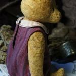 плюшевый мишка в платье