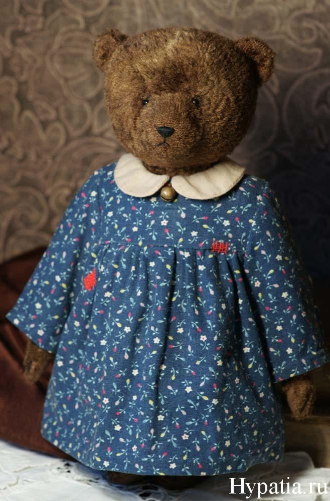 авторский мишка коллекционный медведь