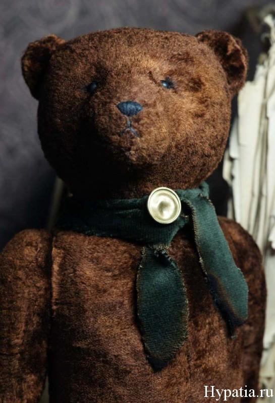 Авторский коллекционный медведь. Гипатия.
