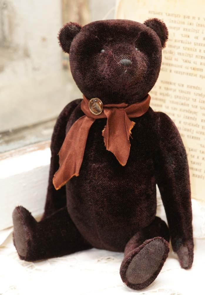 английский антикварный медведь