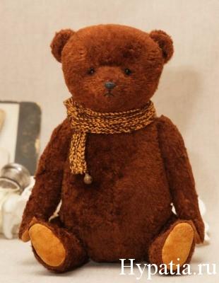Авторский медведь из плюша