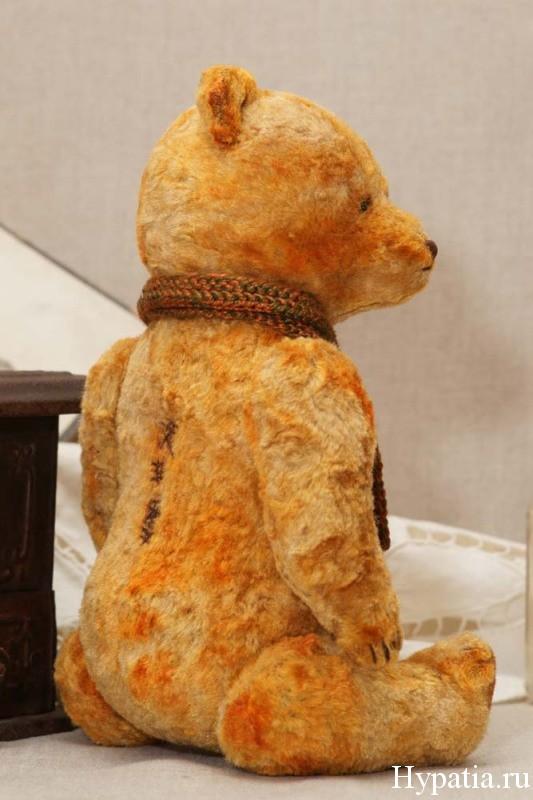 Винтажный медведь ручной работы