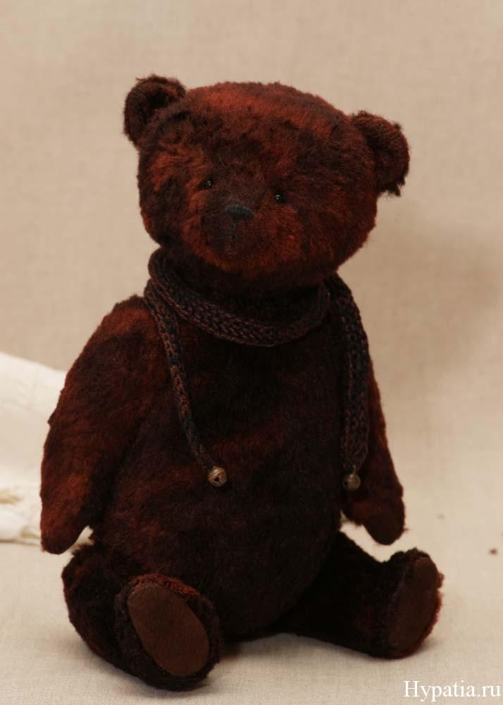 Авторский медведь в винтажном стиле