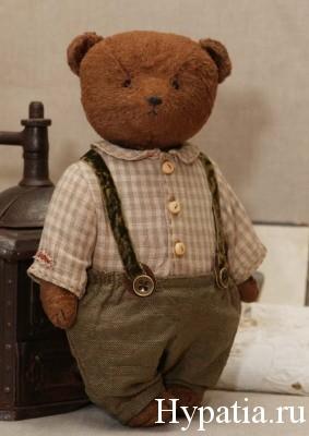 Классический авторский медведь ретро винтаж