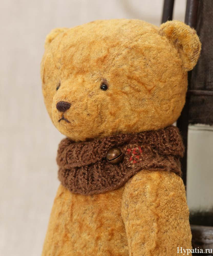 Состаренный авторский медведь