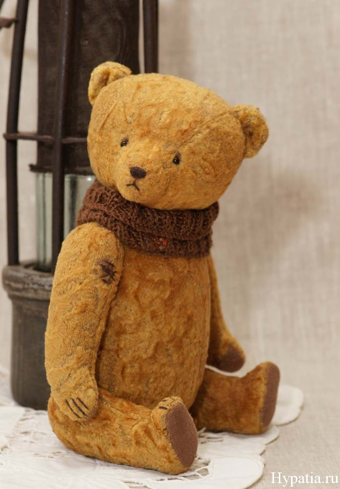 old teddy bear ooak