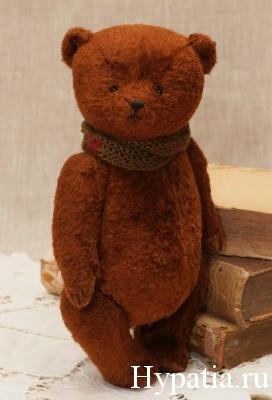 Традиционный плюшевый медведь с опилками