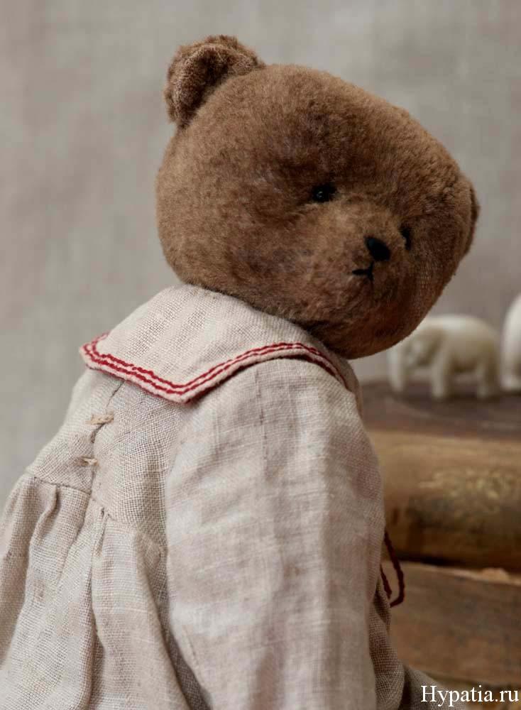 Одежда детей начала 20 века, мишка девочка