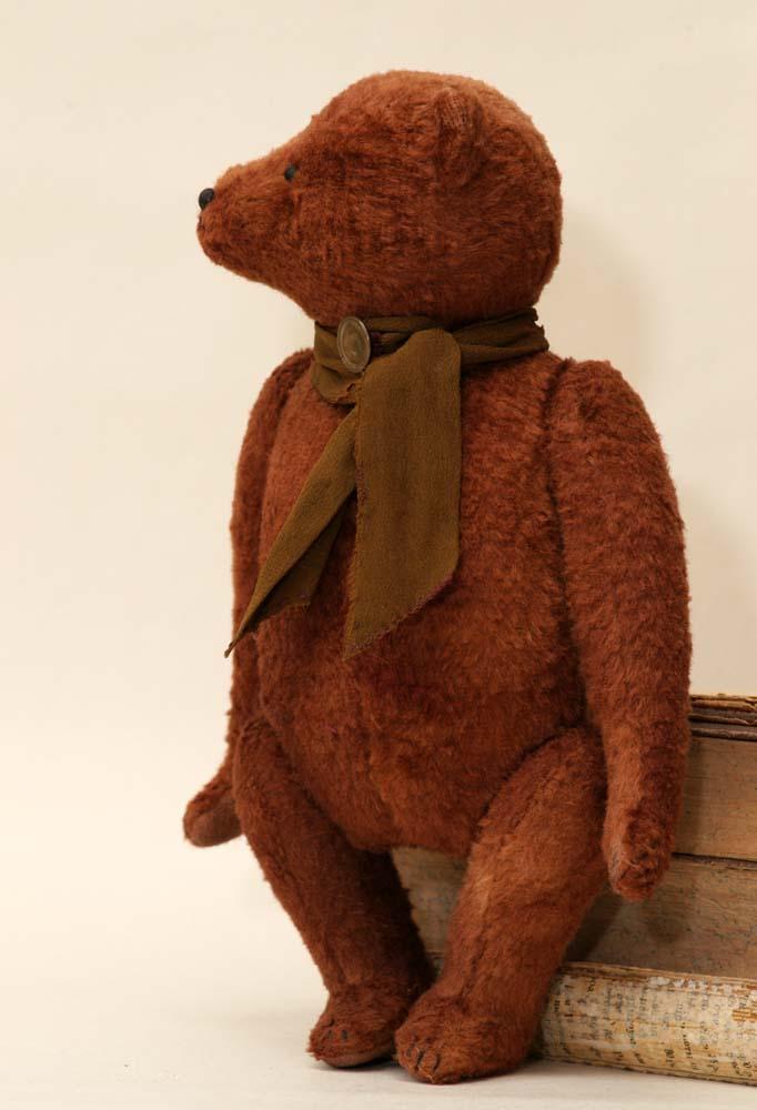 Антикварный медведь англия старинный, Гипатия