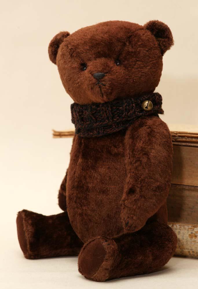 Плюшевый мишка Тедди ручной работы