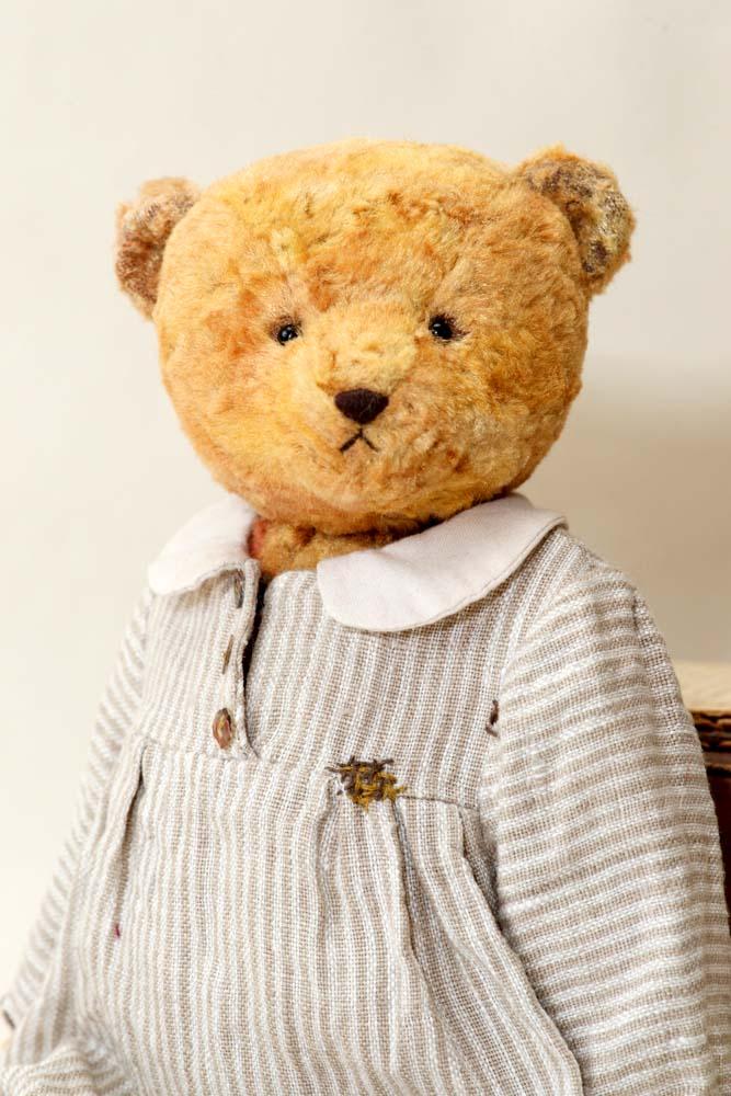 Авторский плюшевый медведь коллекционный.