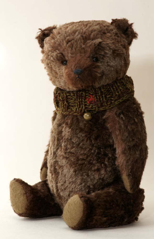 Купить авторского медведя ручной работы, Гипатия