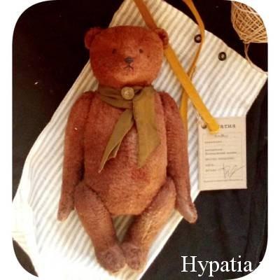 Упаковка для авторского мишки Тедди