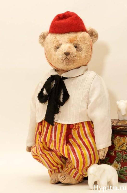 Коллекционный медведь с опилками Петербург, Спб