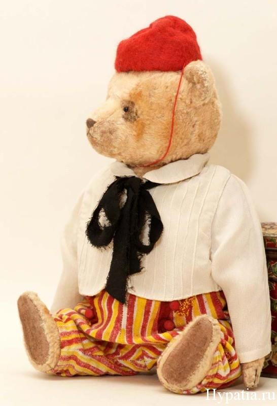 авторский мишка Петербург, СПб медведь