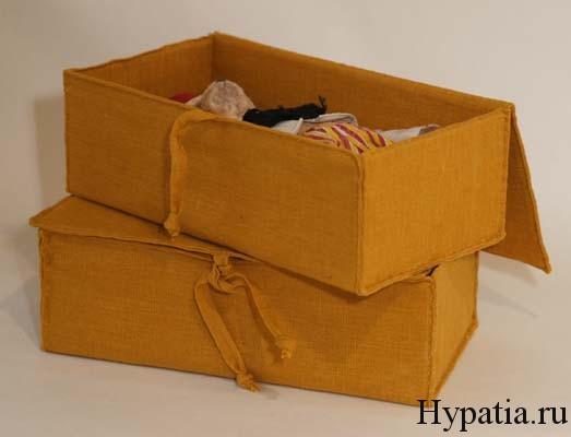 Коробка для подарка ручной работы