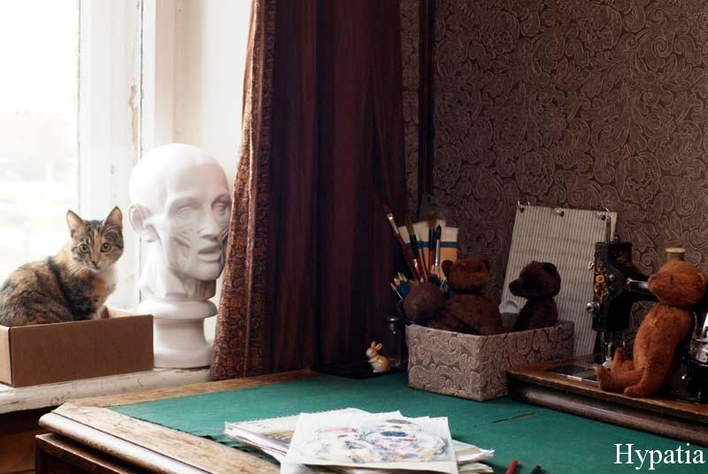 Мастерская художника фото, творческий уголок рукодельницы