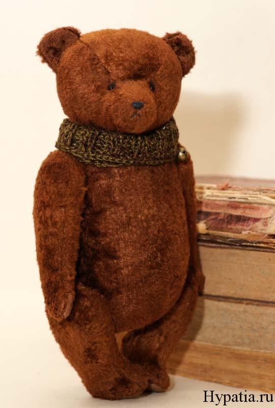 Мишка в подарок ручной работы на Новый год