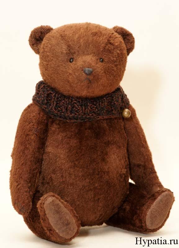 Плюшевый медведь коллекционный