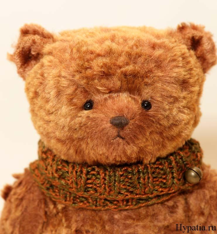 Авторский медведь в подарок на Новый год и Рождество