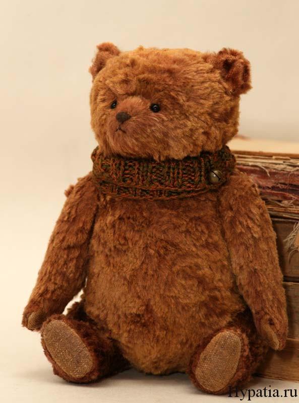 Авторский медведь в подарок ручной работы