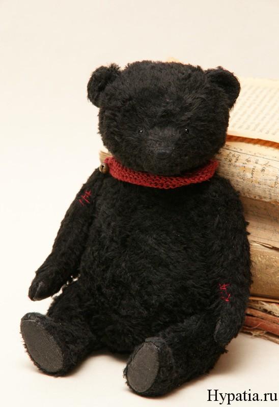 Авторский чёрный мишка