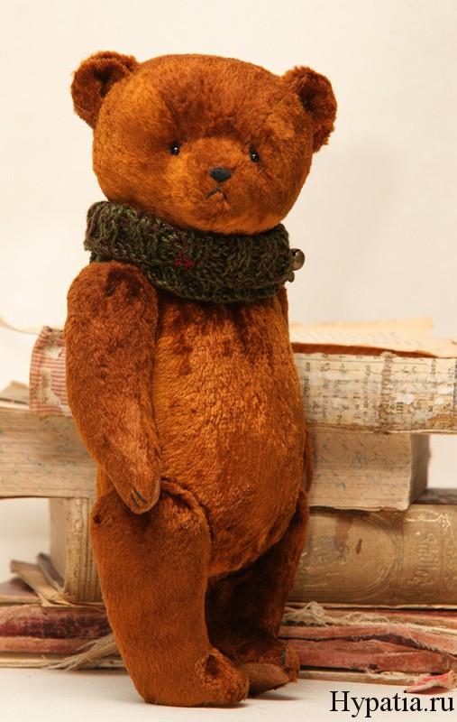 Винтажный медведь ретро