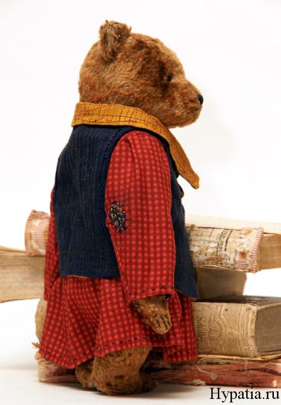 Винтажные мишки Тедди в платье