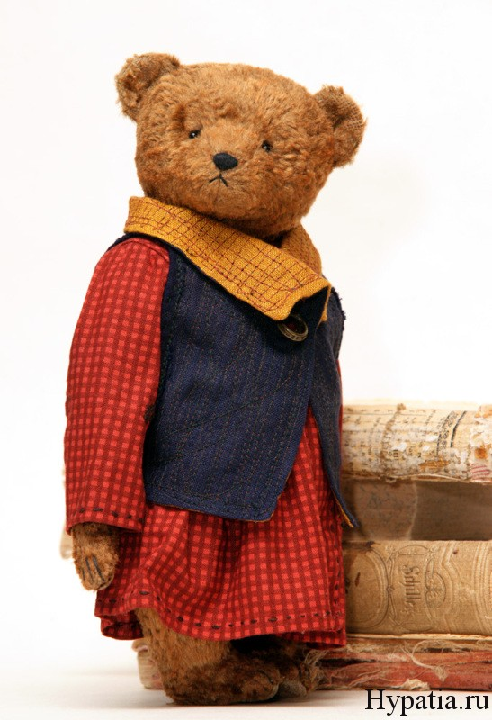 купить плюшевого медведя с опилками