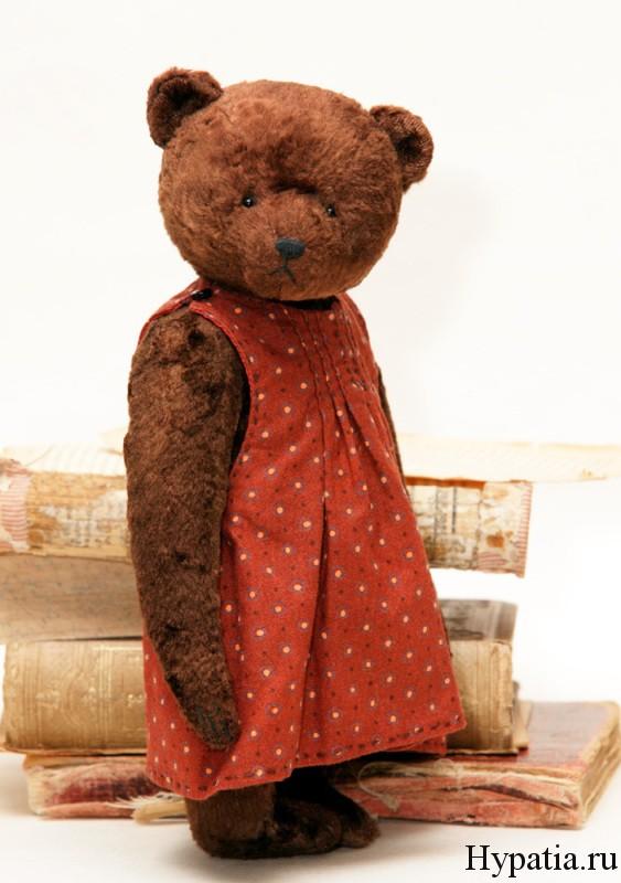 Коллекционный медведь ручной работы